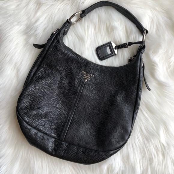 e5fe8b28f7 Prada Bags | Vitello Daino Hobo Bag | Poshmark